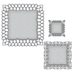 Spellbinders - Art Deco Collection - Nestabilities Die - Fairmont Decorative Element