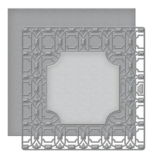 Spellbinders - Art Deco Collection - Card Creator - Die - Deco Lux