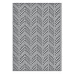 Spellbinders - Art Deco Collection - Texture Plates - Deco Chevron