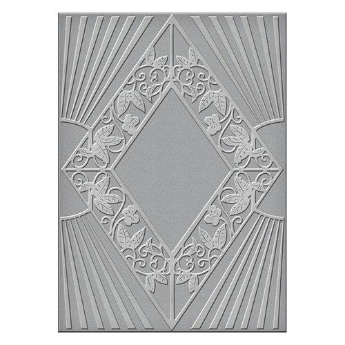 Spellbinders - Art Deco Collection - Texture Plates - Sanctuary