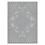 Spellbinders - Art Deco Collection - Texture Plates - Sanctuary