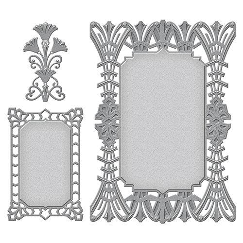 Spellbinders - Art Deco Collection - Nestabilities Die - Astoria Decorative Accent