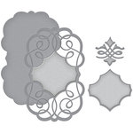 Spellbinders - Wedding Collection - Nestabilities Die - Swirling Grace