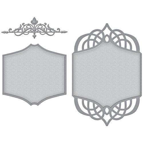 Spellbinders - Wedding Collection - Nestabilities Die - Regal Allure