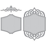 Spellbinders - Wedding Collection - Nestabilities Die - Regal Allure