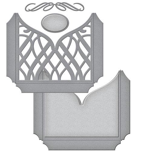 Spellbinders - Wedding Collection - Shapeabilities Die - Classic Elegance Tall Pocket