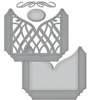 Spellbinders - Wedding Collection - Shapeabilities Die - Classic Elegance Tall Pocket