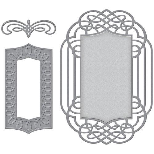 Spellbinders - Wedding Collection - Nestabilities Die - Ornamental Crest