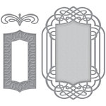 Spellbinders - Wedding Collection - Nestabilities Die - Ornamental Crest