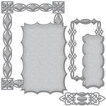Spellbinders - Renaissance Collection - Card Creator - Die - Jeweled Frame