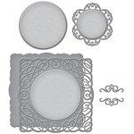 Spellbinders - Wedding Collection - Nestabilities Die - Intertwined Spirals