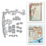 Spellbinders - Botanical Bliss Collection - Shapeabilities Die - Elegant Branch