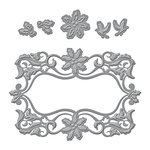 Spellbinders - Holiday Collection - Shapeabilities Die - Christmas Dove Frame