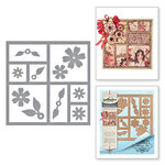 Spellbinders - Special Occasions Collection - Card Creator - Die - Windows of Memories