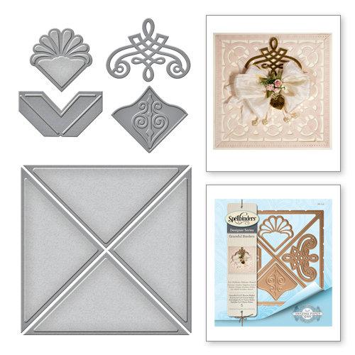 Spellbinders Graceful Borders Graceful 6x6 Frame Maker Card Creator Die