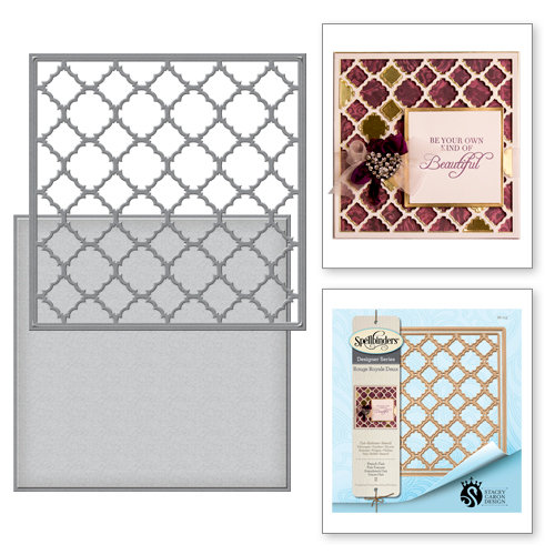 Spellbinders - Rouge Royale Deux Collection - Dies - French Flair