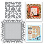 Spellbinders - Rouge Royale Deux Collection - Dies - Fleur de Square