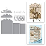Spellbinders - Timeless Heart Collection - Shapeabilities Dies - Double Heart Gatefold Card