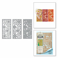 Spellbinders - Thoughtful Expressions Collection - Etched Dies - Layers of Flowers