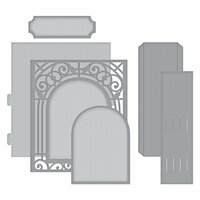Spellbinders - Elegant 3D Cards Collection - Etched Dies - Grand Arch