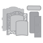Spellbinders - Elegant 3D Cards Collection - Etched Dies - Grand Cabinet