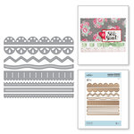 Spellbinders - Sew Sweet Collection - Shapeabilities Dies - Sew Sweet Trims