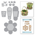 Spellbinders - Blooming Garden Collection - Etched Dies - Hexagon Petal Box