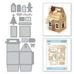 Spellbinders - A Charming Christmas Collection - Shapeabilities Dies - Charming Cottage Box