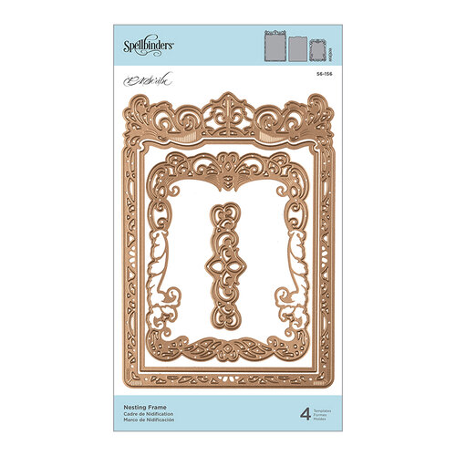 Spellbinders - PA Scribe Collection - Etched Dies - Nesting Frame
