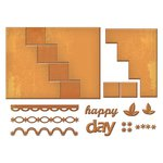 Spellbinders - Die - Card Creator - Happy Days