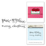 Spellbinders - 3D Shading Cling Stamps - Sentiments I