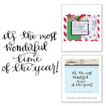 Spellbinders - 3D Shading Cling Stamps - Sentiments II