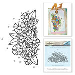 Spellbinders - Cling Stamp Set - Flower Swag 3