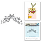 Spellbinders - Happy Grams 2 Collection - Rubber Stamps - Flower Swag 5