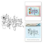 Spellbinders - Cling Stamp Set - Thinking of You