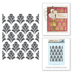 Spellbinders - Rouge Royal Collection - Clear Acrylic Stamps - Eloquent Flourish