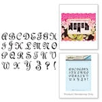 Spellbinders - Rubber Stamps - Fretwork