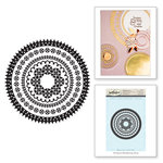Spellbinders - Rubber Stamps - Circle Eloquence