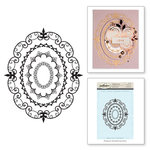 Spellbinders - Rubber Stamps - Oval Opulence