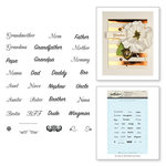 Spellbinders - Rubber Stamps - Loved Ones