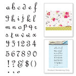 Spellbinders - Joyous Celebrations Collection - Rubber Stamps - Alphabet Lower