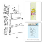 Spellbinders - Bible Journaling Collection - Clear Acrylic Stamps - Singing Bird