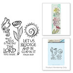 Spellbinders - Bible Journaling Collection - Clear Acrylic Stamps - This is the Day
