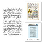 Spellbinders - Happy Grams 4 Collection - Cling Mounted Stamps - Nothing But Love