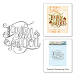 Spellbinders - Happy Grams 4 Collection - Cling Mounted Stamps - Fall for You