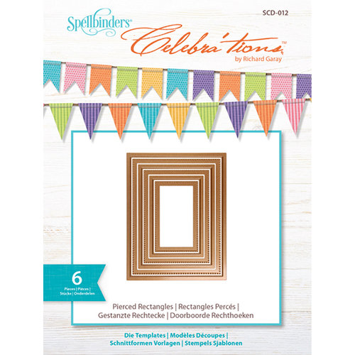 Spellbinders Pierced Rectangle Dies