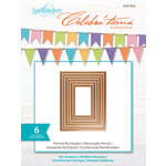 Spellbinders - Celebra'tions Collection - Die - Pierced Rectangles