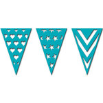 Spellbinders - Celebrations Collection - Die - Pennant Trio