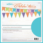 Spellbinders - Celebrations Collection - 12 x 12 Paper Pack - Sea Spray
