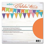 Richard Garay - Celebrations Collection - 12 x 12 Paper Pack - Totally Tangerine